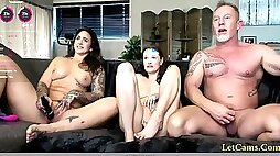 Mature Couple Invite Neighbor To Have Fun
