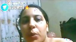 Arab girl masturbating