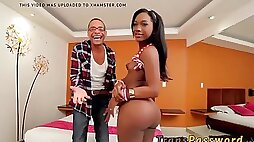 Bubble butt tbabe seduced by big cock for hardcore sex