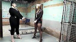 HARD JAIL TIME - fetish femdom with Milf