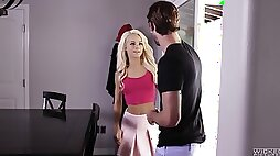 Elsa Jean is a petite babe craving to feel a monster cock in her hole
