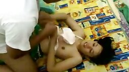 My cute Indonesian babe turned 18 and asked me to fuck her hard