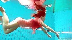 Super-Fucking-Hot Deniska Underwater Bare Teenager