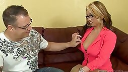 Both Asian holes of nerdy nympho Mia Rider get polished well