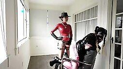 String on Flagellating for Candi Cumdump - Stella Liberty - Female Dominance Dame Predominance Pegging Sissy Teaching