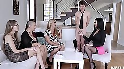 Awesome compilation with gorgeous Brooklyn Chase who loves being fucked