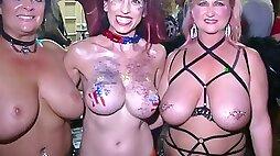 Kinky Street Fantasy Fest Pre Festival Party Key West Florida Last Night - NebraskaCoeds