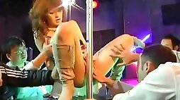 Horny Japanese slut Rei Ganaha in Amazing Big Tits, Striptease JAV scene