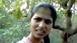 Indian marathi girls and boy jungle mai chudai