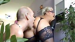Young slave ass lick hot mature