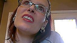 Megan Majors long Tongue Fetish