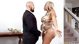 Bisexuall group experience with Bridgette B is memorable for  Moriah Mills