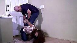 Maria Marley I'll just keep you tied up and gagged!