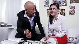 Monster Pervert Instructor Wants Teen Pussy