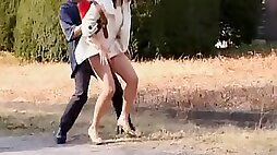 Public nudity video with kinky sharking action in Japan
