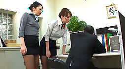 I was sexually dominated by my horny female colleagues