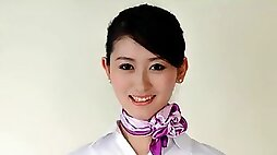 The outflow hot chat movie scene! Shenyang Aviation Academy of cabin attendant candidates O (shenyang)