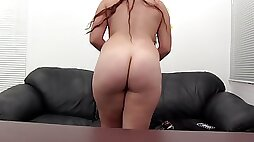 Sherry is a chubby babe with glasses who needs to be fucked well