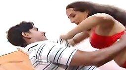 Pakistani busty woman teasing man