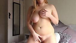 Killer English bbw jerk instruction video stellar hefty boobs