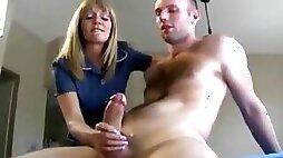 Sexy Mom Jessica Sexton Jerks Scotty